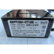 Трансформатор поджига Brahma TD2LTCSF, code 15910670